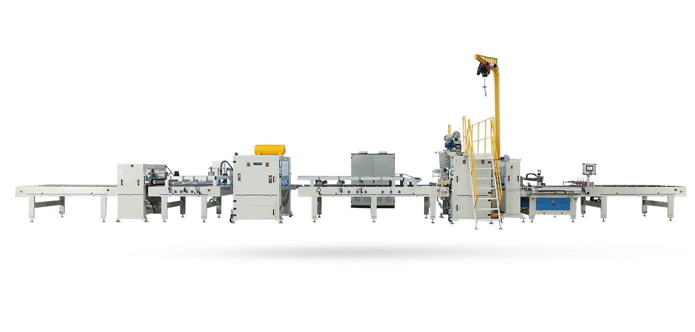 VFL-1400-RL-Flat Lamination Line With Reverse Roll Machine