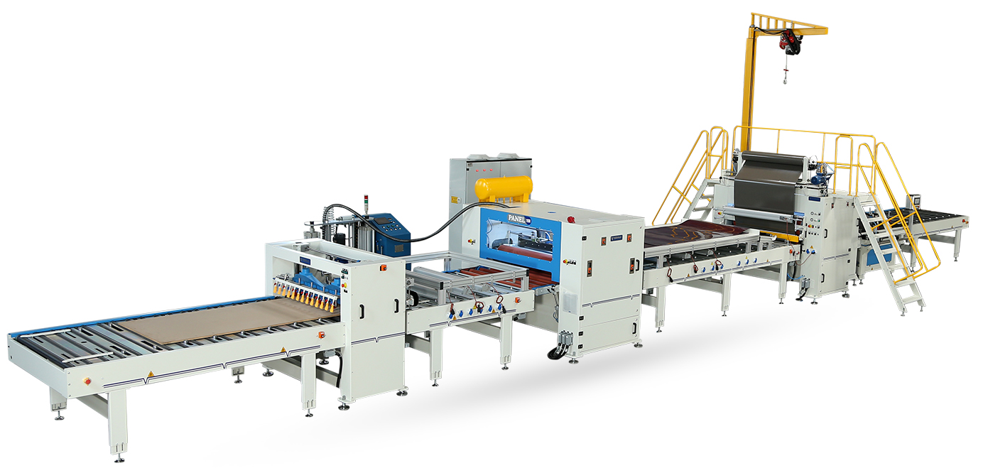VFL-1400-RL-Flat Lamination Line With Reverse Roll Machinery