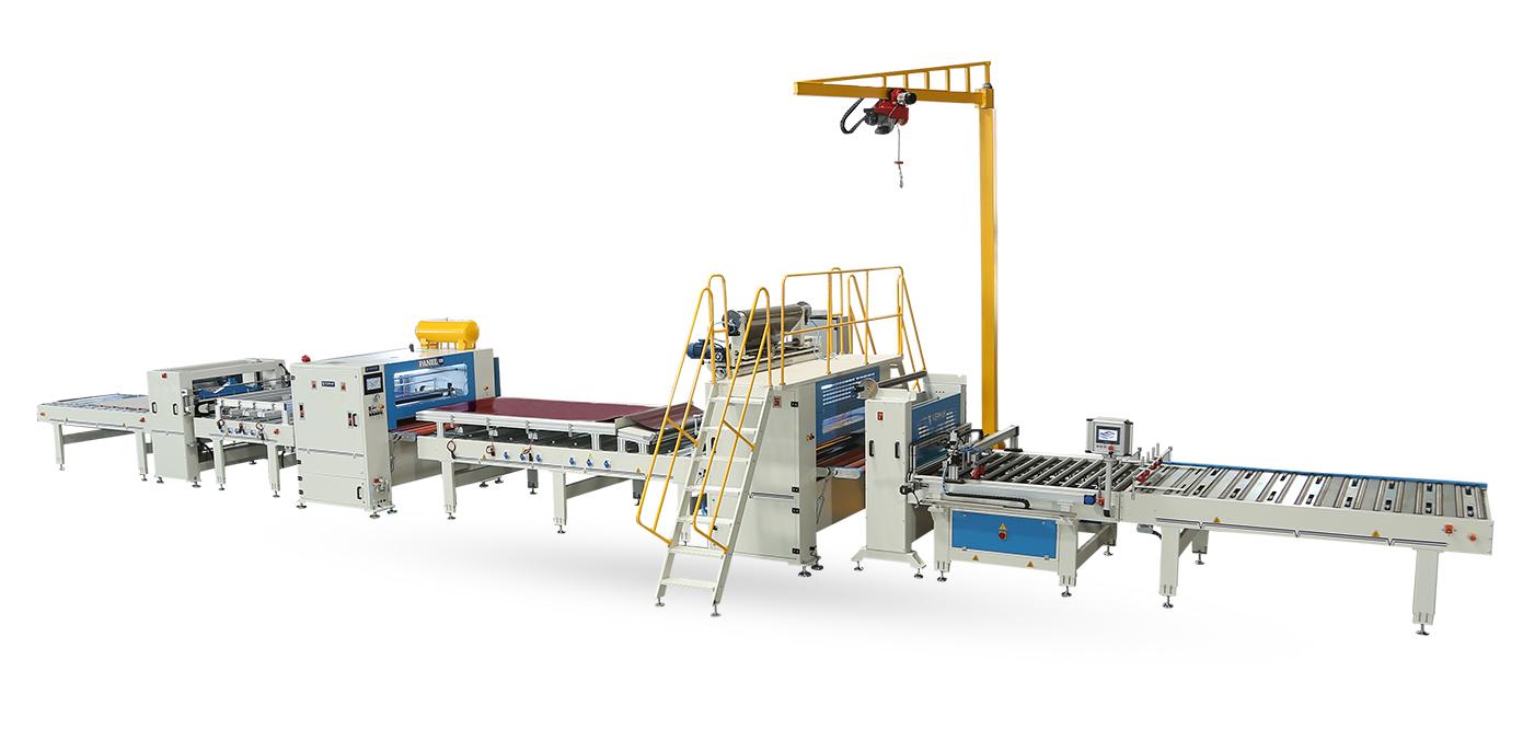 VFL-1400-RL-Flat Lamination Line With Semi Automatic Reverse Roll